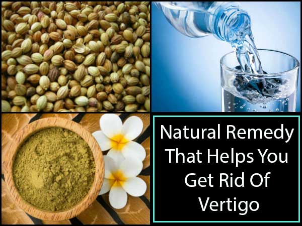 Natural Remedy For Vertigo