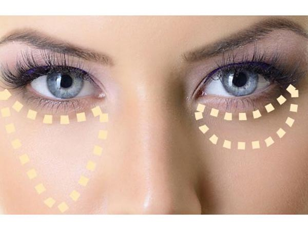 how to hide dark circles with makeup