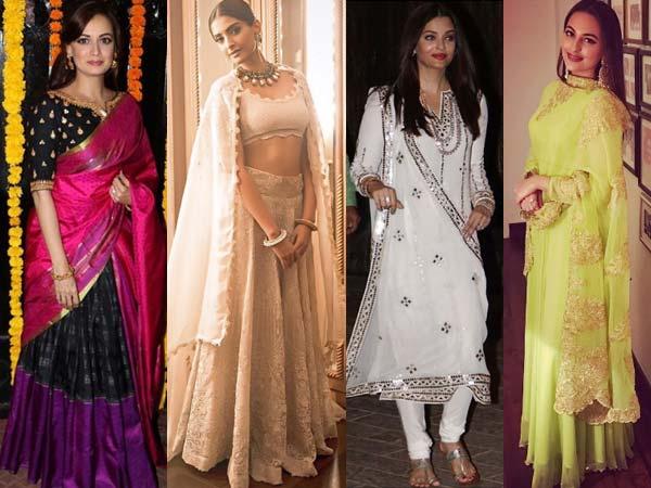 Highlights: Bollywod's Diwali Fashion