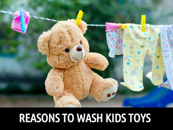 Do You Wash Your Kids' Toys Regularly