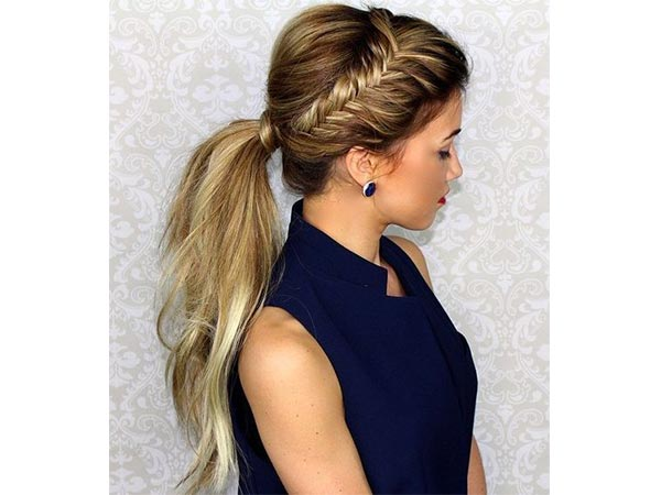 ponytail hairstyles to try
