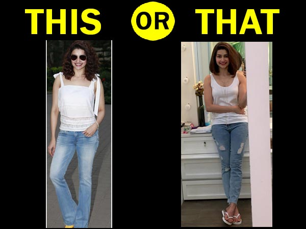 Prachi In Bootcut Jeans Or Skinny Jeans?