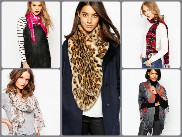 how to wear a winter scarf fashionably