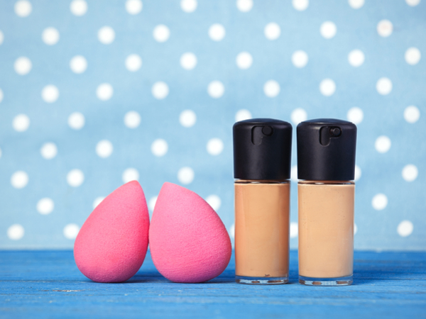 how to clean an egg shaped makeup sponge