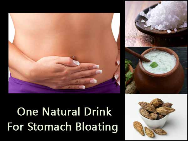 This One Natural Drink Helps Cure Stomach Bloating Instantly; Check It!