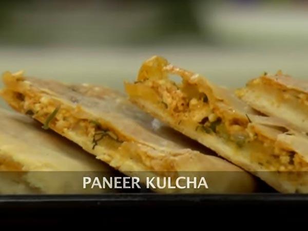 Easy To Prepare Paneer Kulcha Recipe