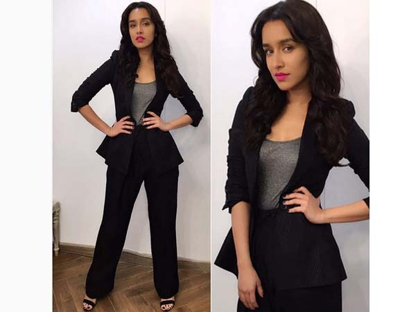 Shraddha's Rock On 2 Promotion Lookbooks