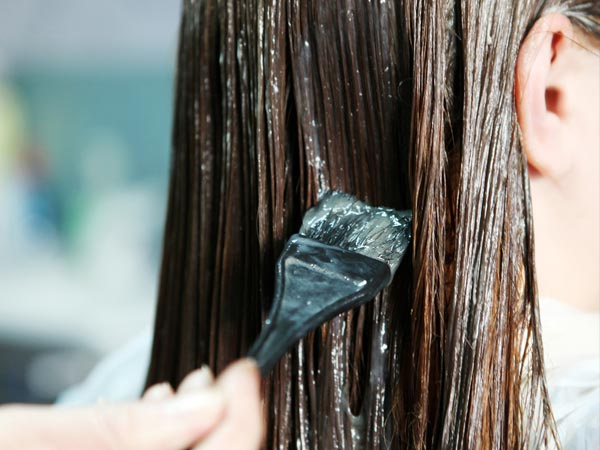 Image result for apply mask on hair