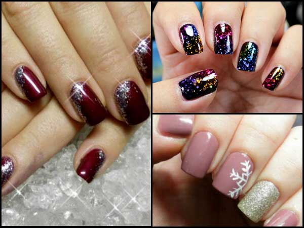 Sparkly Nail Art For Christmas New Years You Need To Try Out