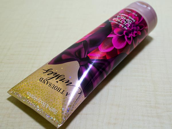 bath & body works ultra shea body cream review