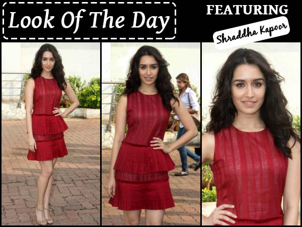 Shraddha Kapoor In Red Hot Dress