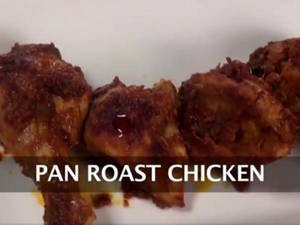pan roast chicken recipe