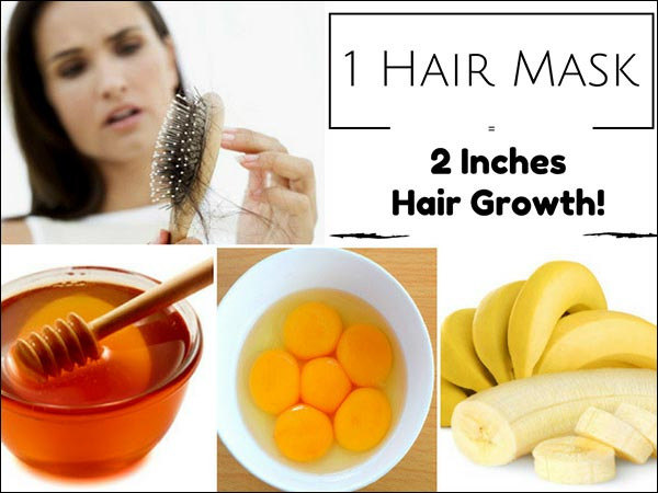 Apply This 1 Mask On Hair For An Hour, Grow 2 Inches Of Hair In 30 Days!