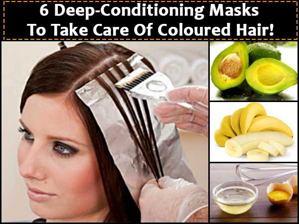 6 Deep-Conditioning Masks To Take Care Of Coloured Hair!