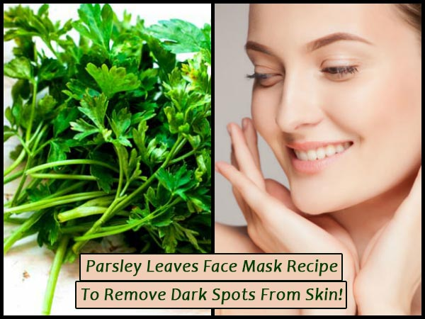 parsley face mask