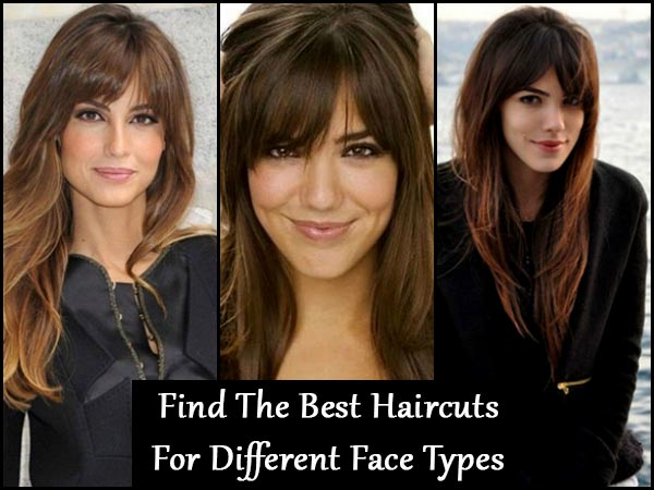 Find The Best Haircuts For Different Face Types