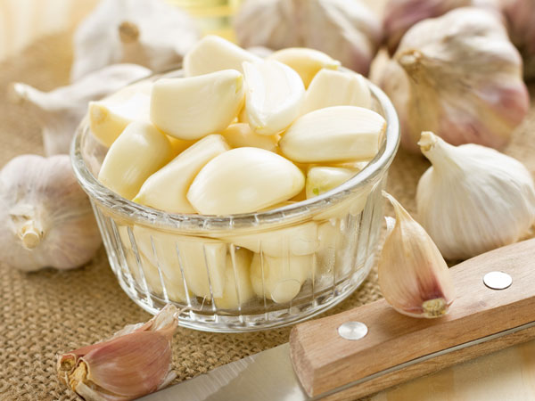 Lemon & Garlic Mixture To Clear Heart Blockages