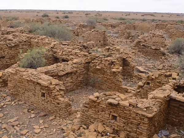 An Abandoned Village Near Jaisalmer: Kuldhara