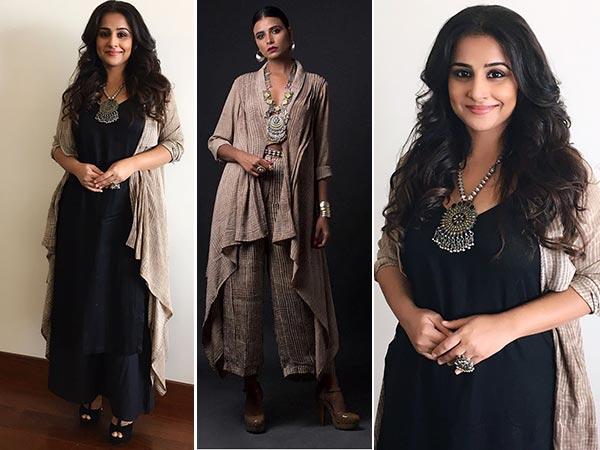 Vidya Balan Slays In Her Desi-Western Appearance!