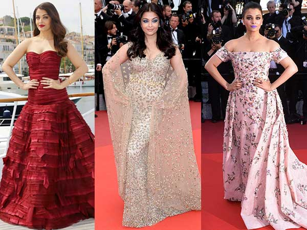 When Aishwarya Looked Like A Goddess In Gowns