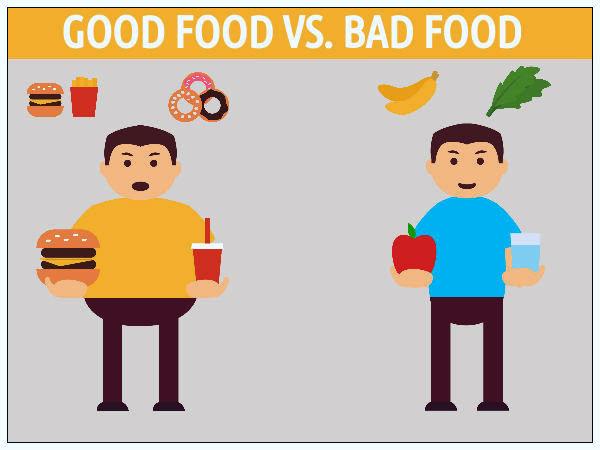 Good Food Vs Bad Food Facebook