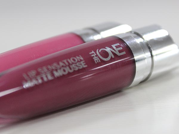 oriflame matte mousse lipstick review