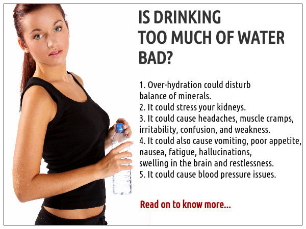 Dehydration From Drinking Too Much Water