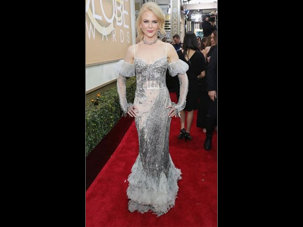 Golden Globe Awards 2017|Nicole Kidman\'s Outfit Golden Globe Awards ...