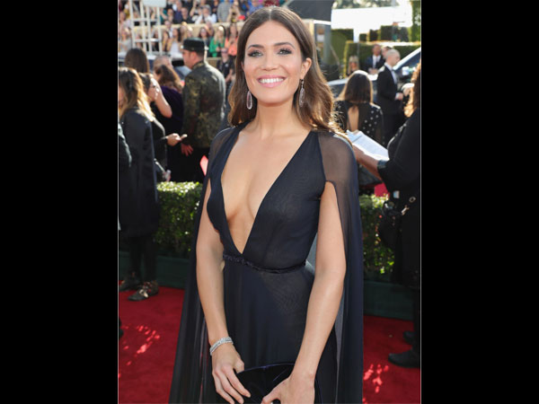 Mandy Moore At Golden Globes 2017
