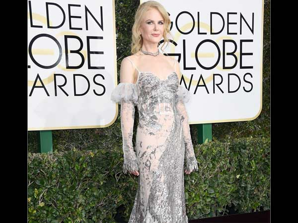 Nicole Kidman At Golden Globes 2017