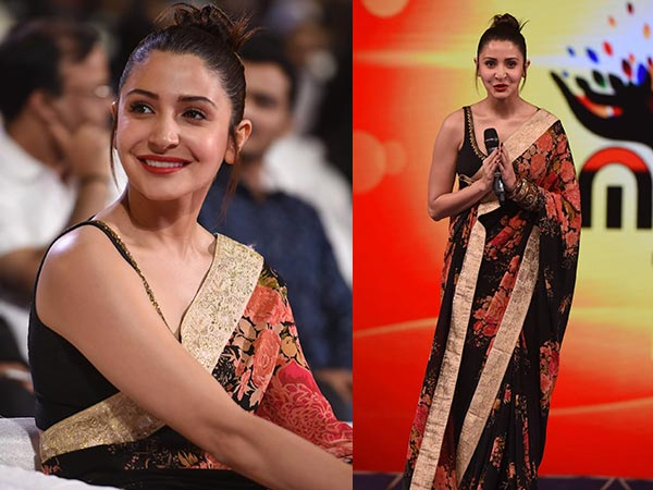 Anushka Sharma Slaying In Beautiful Sabyasachi Saree