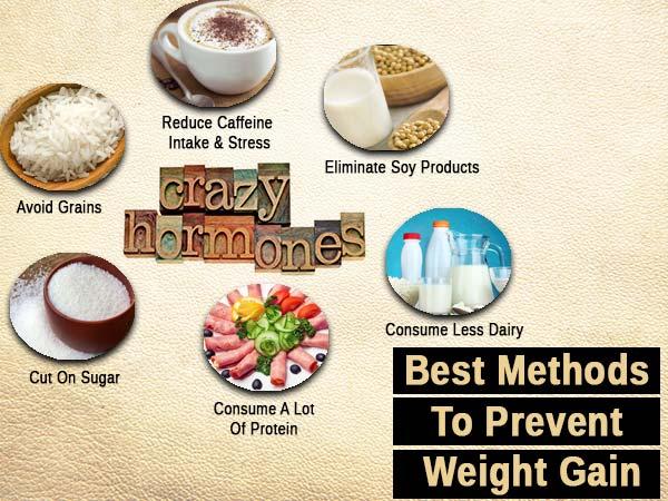 Best Methods To Turn Off Your Weight Gain Hormones