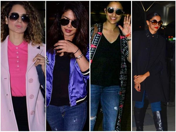 On Airport Fashion: Find Out Why Bollywood Is Mad Over Coats/Jackets
