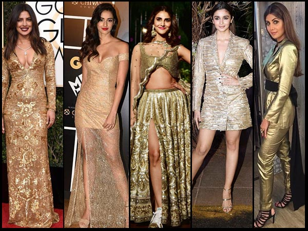 List Of Bollywood Fashionistas Who Brought Back Golden Dresses