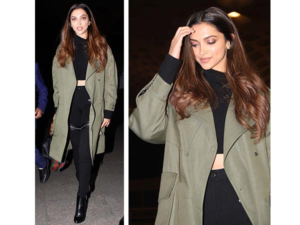 Deepika Padukone Teaches How To Wear Airport Coat Right