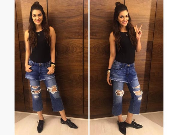 Man! Kriti Sanon, Are You Trying To Look Like Gigi? You've Massively Failed At This Attempt