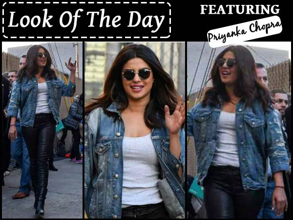 On Street Style: Priyanka Chopra Steals The Show In A Jiffy With Her Latest Lookbook