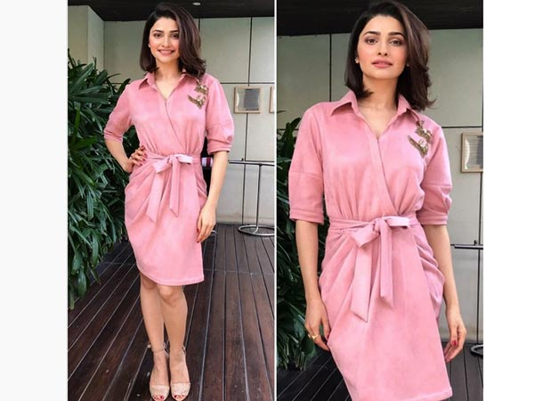 Prachi Desai Wears A Bathrobe Lookalike Dress & Still Steals Our Hearts!
