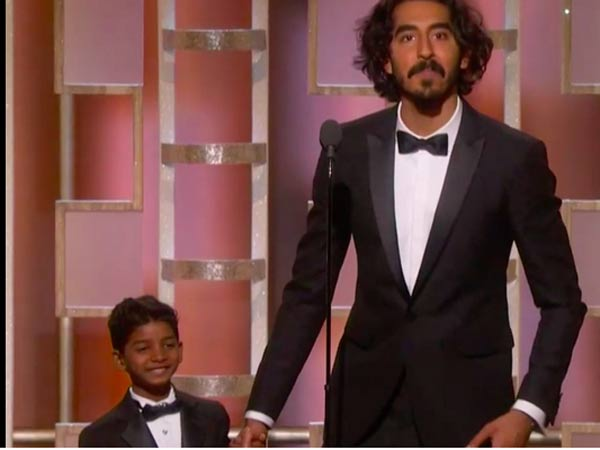 Dev Patel, The Cutest Thing#GoldenGlobes