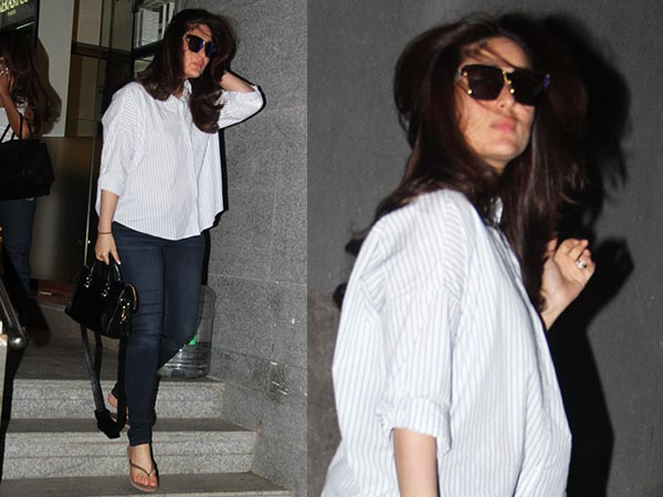 Kareena Kapoor, Out In Bombay!