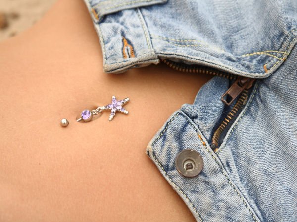 how to clean your belly button if your fat