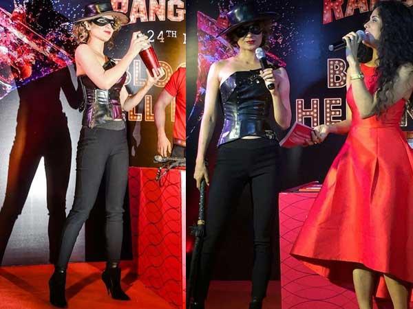 Kangana Ranaut 39 S Rangoon Promotion Wardrobe Is Drugged On