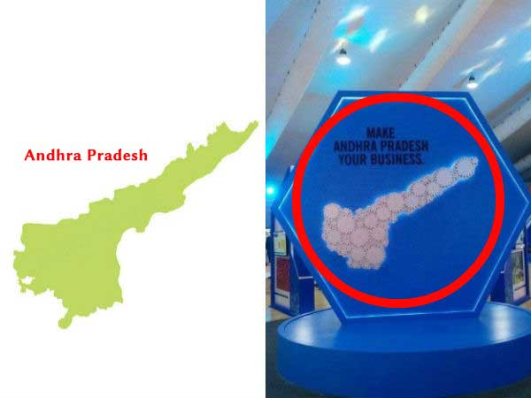What Is Wrong With The Shape Of Andhra Pradesh On The Map? - Boldsky.com