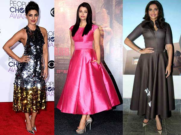 Bollywood Celebrities Who Rocked The Midi Dress