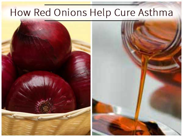 Here Is How Red Onions Help Cure Asthma