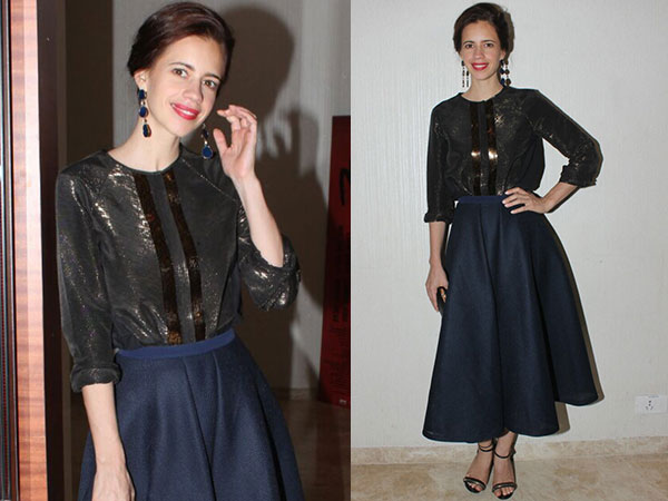 Kalki Koechlin Flaunts Chic Lookbook At A Trailer Launch