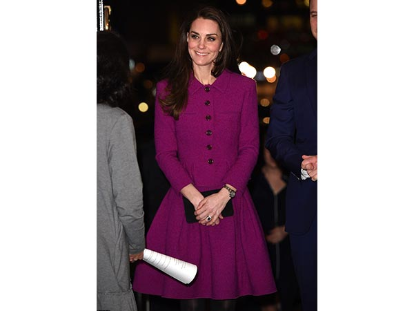 Kate Middleton In Oscar De La Renta