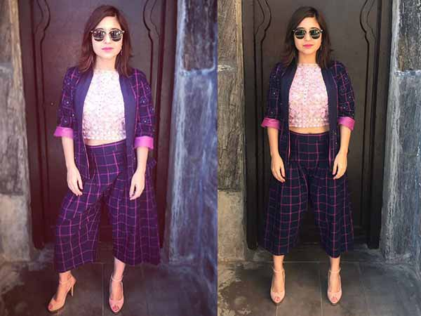 Masaan Shweta Tripathi Wears Checkered Pantsuit & Brings Down The Summer Heat!