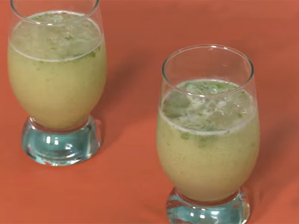 How to prepare minty mango delight