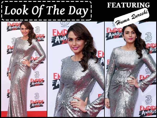 Huma Qureshi Wearing Catherine Walker @ Empire Awards 2017